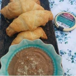 Crème brûlée à la royale (40% foie gras)