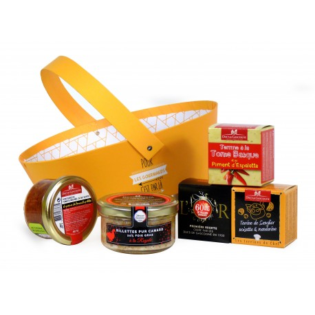 "Coffret gourmand ""L'accent du Sud"""